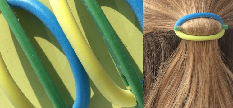 Test 6: really enthusiastic about the PolyJet printed hair clip (Thanks to Seido Solutions)
