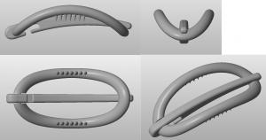 Prototype 3D hairclip