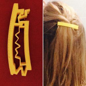3D printed hairclip