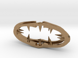 Lains Hairclip Shapeways